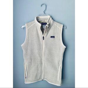 Patagonia Better Sweater Vest in cream medium